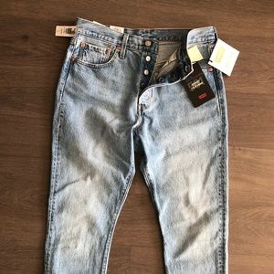 Levi's 501 SKINNY Size 29 Medium Denim